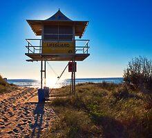 Lifeguard Tower 45 by John Sharp