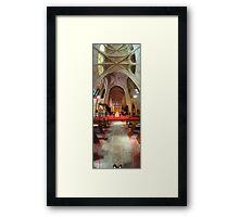 Shoes To Sky | St. John's Framed Print