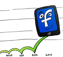 Facebook higher with ad revenues on mobile devices by Binary-Options