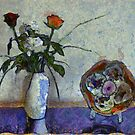 Flowers and a Bowl by RicIanH