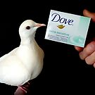 Dove Extra Sensitive... That's Me.. White Dove - NZ by AndreaEL