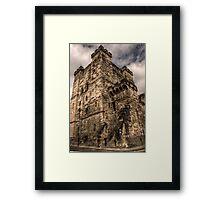 The Keep Framed Print