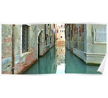 The Canal in Venice Poster
