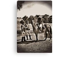 Troopers and Mounted Police Canvas Print