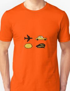 Lemon plane hat car T-Shirt