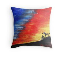 My Journey Throw Pillow