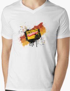 Graffiti Cartridge Mens V-Neck T-Shirt