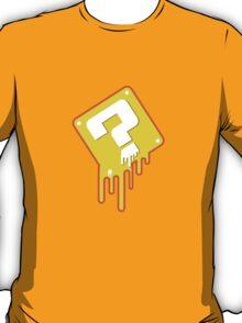 Melting Question Block T-Shirt