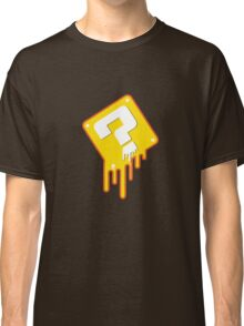 Melting Question Block Classic T-Shirt