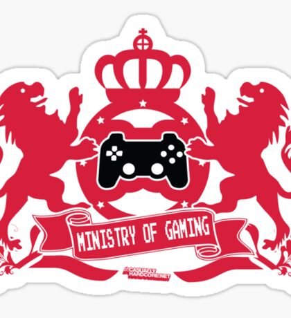 Ministry Of Gaming Sticker