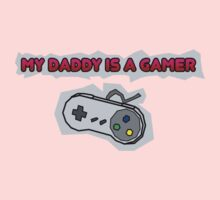 My Daddy Is A Gamer Kids Tee