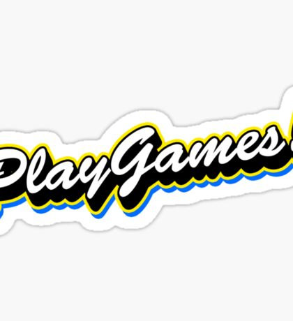 Play Games! Sticker
