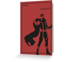 Magneto Greeting Card