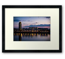 Chelsea Sunset Framed Print