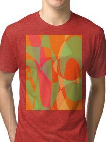 The Sun through the Orange Leaves Tri-blend T-Shirt
