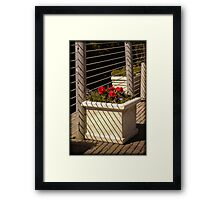 Striped Patterns Framed Print