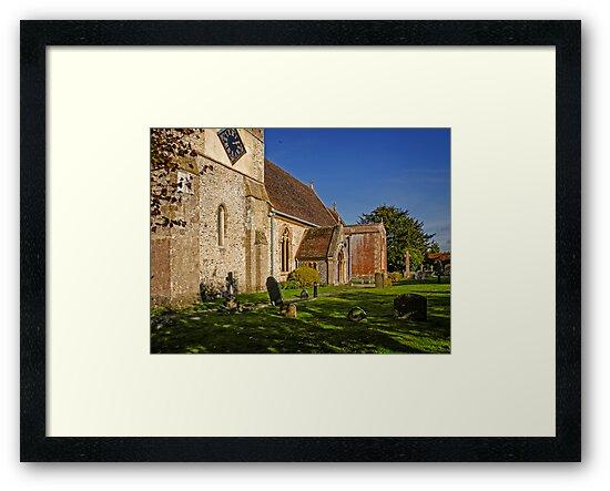St Mary's Church Kintbury Berkshire by mlphoto