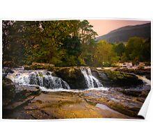 Falls of Dochart Scotland 2 Poster