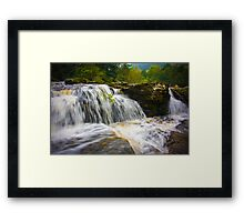 Falls of Dochart Scotland 3 Framed Print