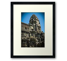 Ankhor Wat Temple Framed Print
