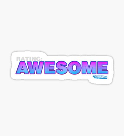 Rating: Awesome Sticker