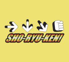 Sho Ryu Ken One Piece - Short Sleeve