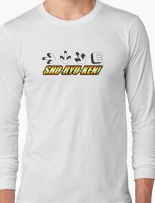 Sho Ryu Ken Long Sleeve T-Shirt