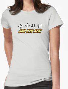 Sho Ryu Ken Womens Fitted T-Shirt