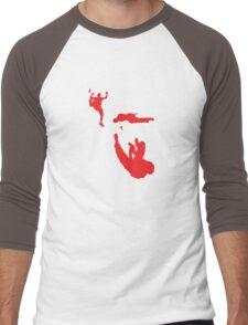 Slide and Shoot Men's Baseball ¾ T-Shirt