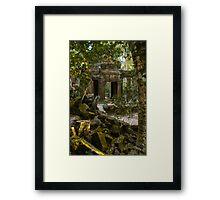 Ta Promh Temple Framed Print