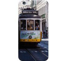 Tram, Lisbon - Portugal iPhone Case/Skin
