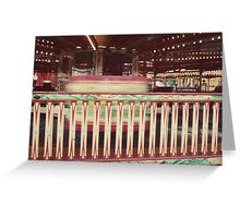 WALTZERS Greeting Card