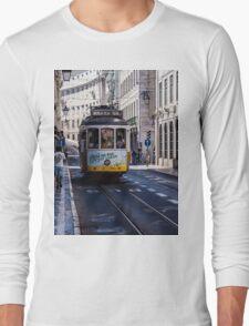 Tram, Lisbon - Portugal Long Sleeve T-Shirt