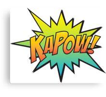 KAPOW! Canvas Print