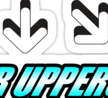 Tiger Uppercut Sticker