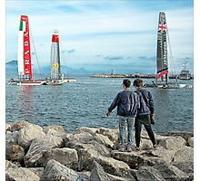 America's Cup 2013 Photographic Print