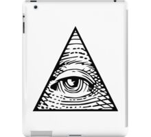 illuminati Eye of Providence iPad Case/Skin