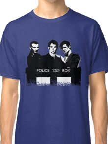 A Multi Doctor Story in Black and White Classic T-Shirt