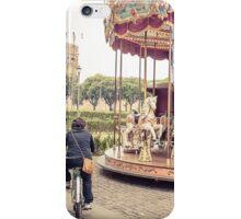 Carnival, Carousel, Fair, Italy, Rome iPhone Case/Skin