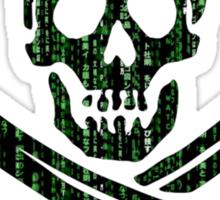 Digital Pirate Sticker