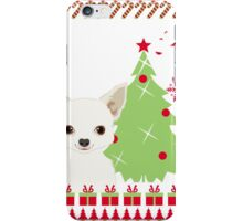 Chihuahua Ugly Christmas Sweater iPhone Case/Skin
