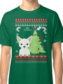 Chihuahua Ugly Christmas Sweater Classic T-Shirt