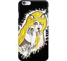 Kitty Brooker Logo- I phone Cases iPhone Case/Skin