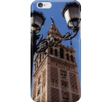 The Giralda, Cathedral of Seville iPhone Case/Skin