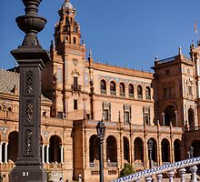 Square Spain - Seville, Spain by RichardPhoto