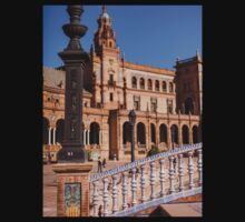 Square Spain - Seville, Spain Baby Tee