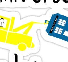 Big yellow truck Sticker