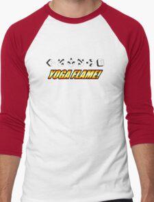 Yoga Flame Men's Baseball ¾ T-Shirt
