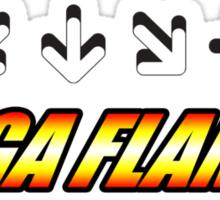 Yoga Flame Sticker