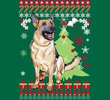 German Shepherd Christmas Sweater T-Shirt